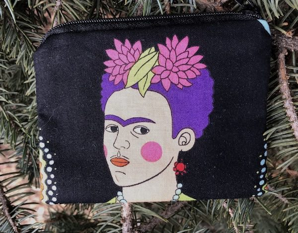 Frida Kahlo Coin Purse, The Raven