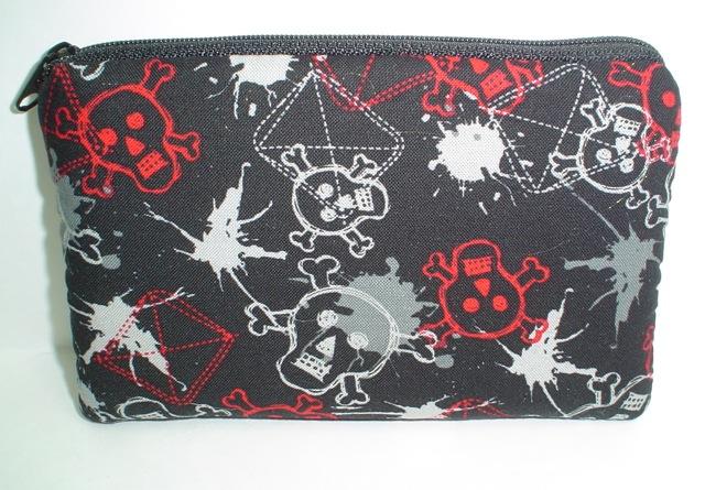 Graffiti Skulls Tarquin padded bag for electronics- CLEARANCE