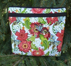 Garden of Enchantment Padded case for iPad 2 and 3, smaller tablets and netbooks, The Boda Deluxe