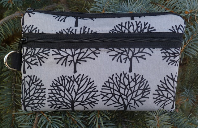 Ghastlie Trees Mini Wallet Purse Organizer, The Sweet Pea