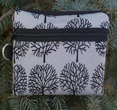 Ghastlie Trees Mini Wallet Purse Organizer, The Sweet Pea