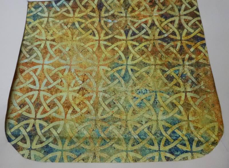 Gold Celtic Knots Pick your Size Morphin Messenger Bag Flap
