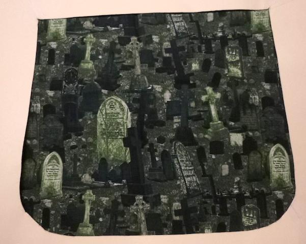 Graveyard Pick your Size Morphin Messenger Bag Flap