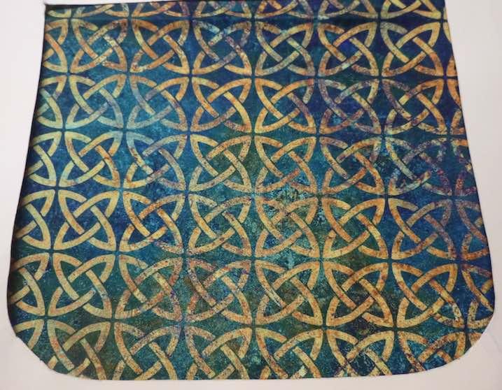 Celtic Knots on Green Pick your Size Morphin Messenger Bag Flap