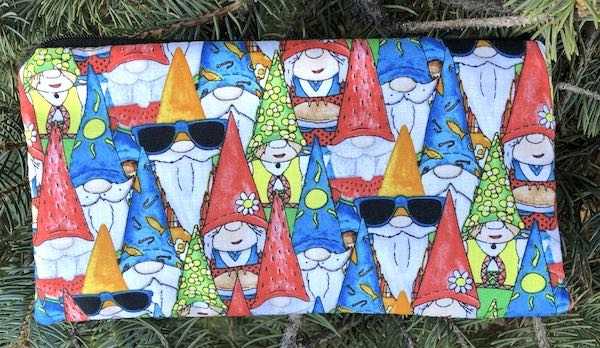 Hanging With My Gnomies Deep Scribe pen and pencil case