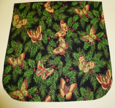 Holiday butterflies Pick your Size Morphin Messenger Bag Flap