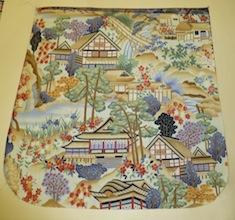 Japanese Village Pick your Size Morphin Messenger Bag Flap