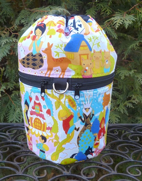 Kawaii Fairy Tales Kipster Knitting Project Bag