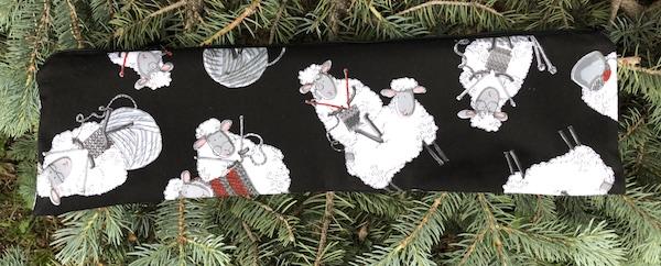 Knitting Sheep Long Knitting Needle Pouch, The Stitch