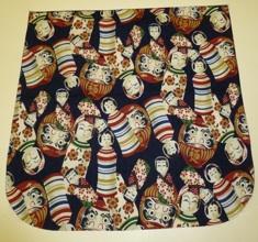 Kokeshi and daruma dolls Pick your Size Morphin Messenger Bag Flap