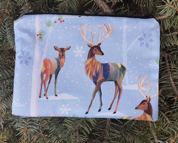 Magical Deer zippered bag, The Scooter