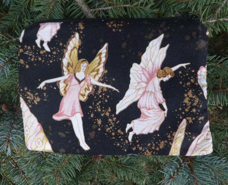 Midnight Fairies zippered bag, The Scooter
