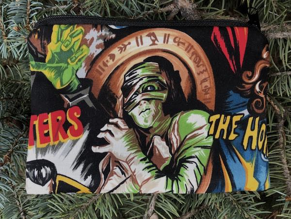 Movie Monsters Goldie zippered bag - Pick your two favorites