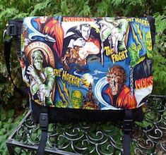 Movie Monsters Lynx Deluxe Messenger Bag