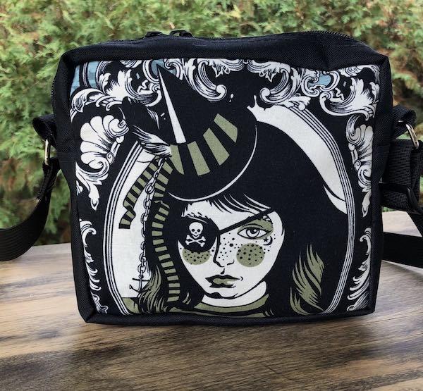 Neptunia Von Black Hipster Shoulder Bag, The Otter