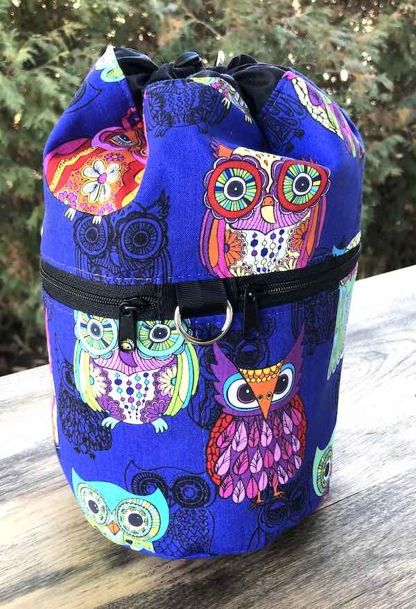 Owly Kipster Knitting Project Bag
