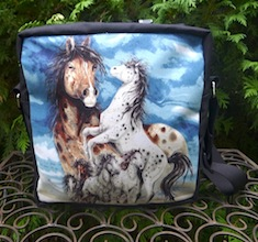 Regal Horses Shoulder Bag, The Super Raccoon-CLEARANCE