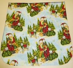 Santa's kitties Pick your Size Morphin Messenger Bag Flap