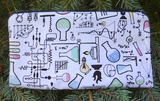 Science Lab Deep Scribe pen and pencil case