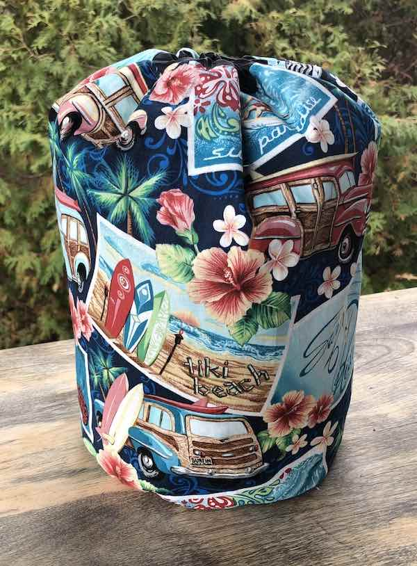 Surfin' drawstring bag, The Large Suebee