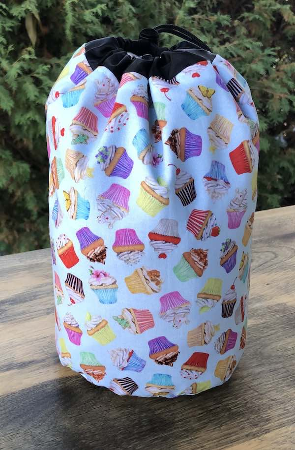 Sweet Treats SueBee Round Drawstring Bag