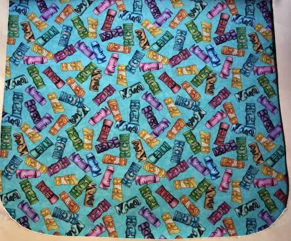 Tikis Pick your Size Morphin Messenger Bag Flap