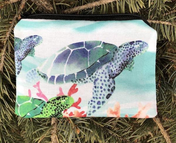 Under Water Color Coin Purse, The Raven
