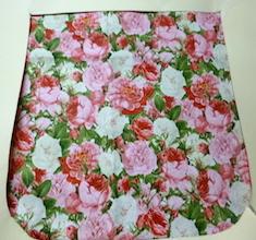 Vintage Roses Pick your Size Morphin Messenger Bag Flap