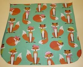Fabulous Foxes Vixens Pick your Size Morphin Messenger Bag Flap