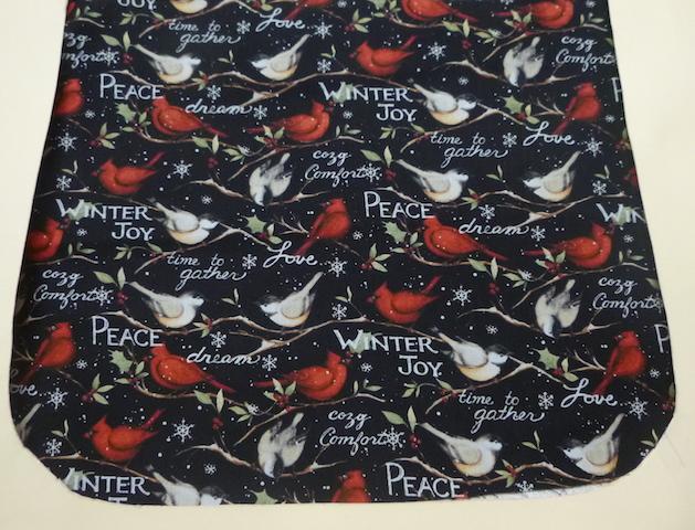 Winter Joy Pick your Size Morphin Messenger Bag Flap