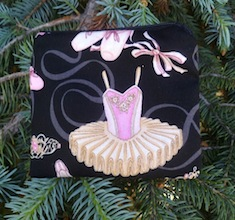 Ballet Coin Purse, The Raven