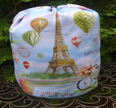 Ballooning In Paris drawstring bag, The Large Suebee