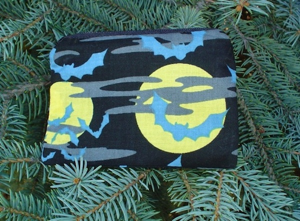 Bats and Moon Coin Purse, The Raven