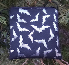 Silver Bats Wren, special occasion purse