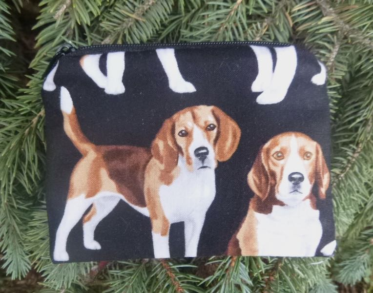 Beagles Coin Purse, The Raven