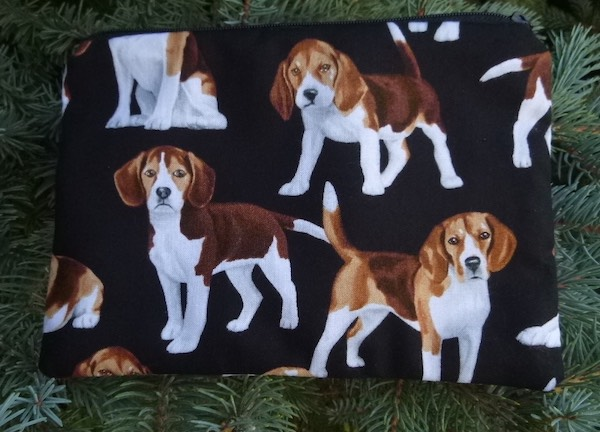 Beagles zippered bag, The Scooter