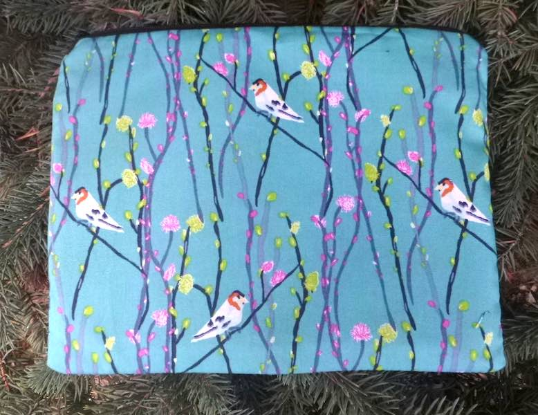 Birds and Branches Slide Mahjongg card and coin purse