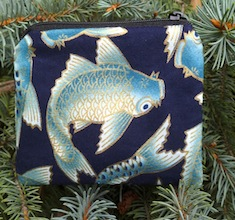 Blue Koi Coin Purse, The Raven
