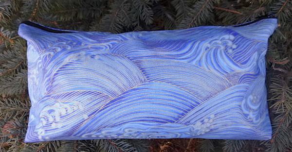 Blue Waves Large Zini Flat Bottom Bag