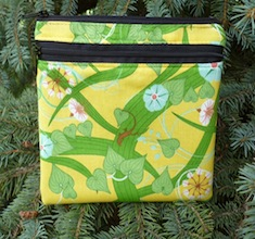 Botany Convertible clutch, wristlet or shoulder bag, The Squirrel-CLEARANCE