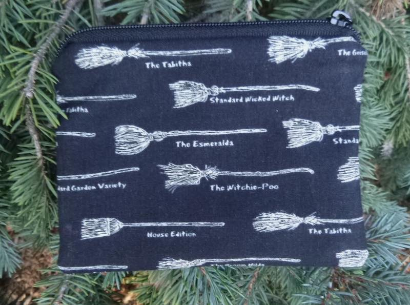 Broomhilda's Brooms Coin Purse, The Raven