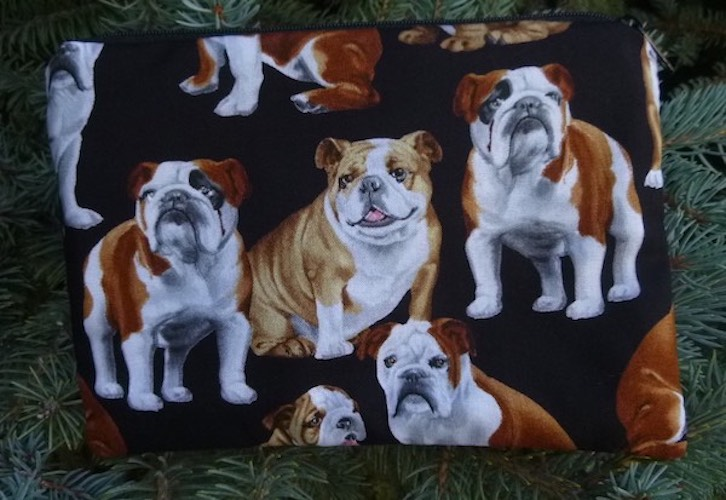 Bulldog zippered bag, The Scooter