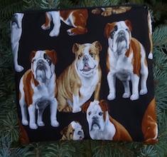 Bulldog zippered bag, The Scooter