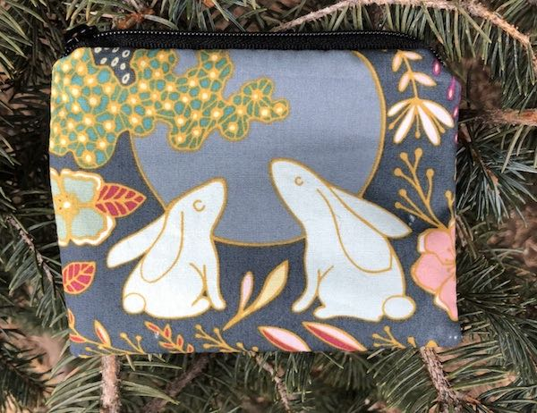 Bunny Moon Coin Purse, The Raven