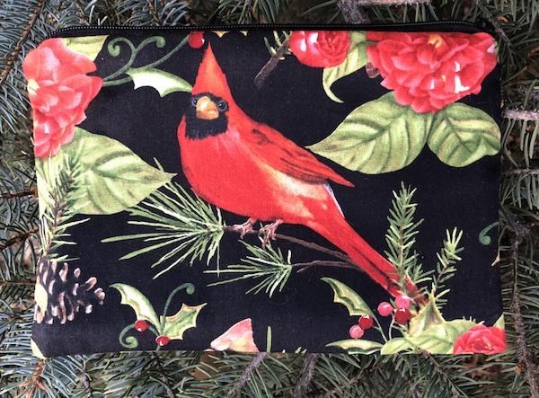 Cardinal Beauty zippered bag, The Scooter - 2