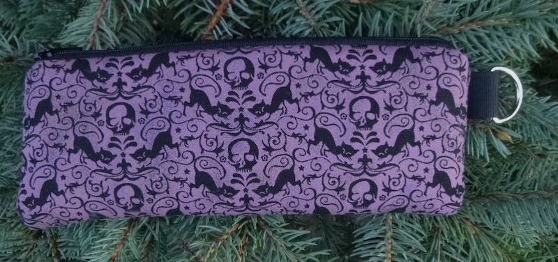 Cats and Skulls Padded Zippered Glasses Case, The Spex