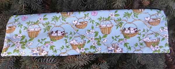 Cats in Baskets Long Knitting Needle Pouch, The Stitch