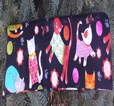 Cats in Sweaters Long Knitting Needle Pouch, The Stitch