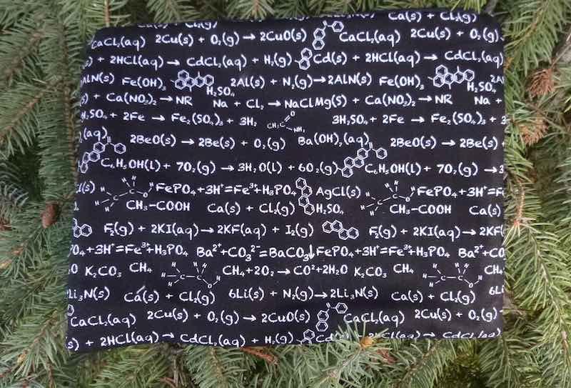 Chemisty Supa Scribe extra large pencil case