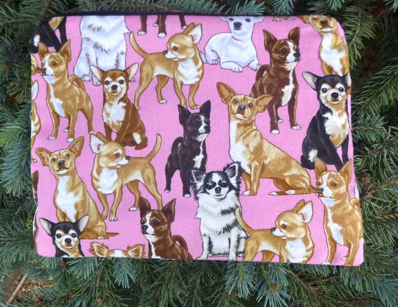Chihuahua Supa Scribe extra large pencil case